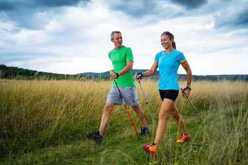 Здоровье скандинавская ходьба