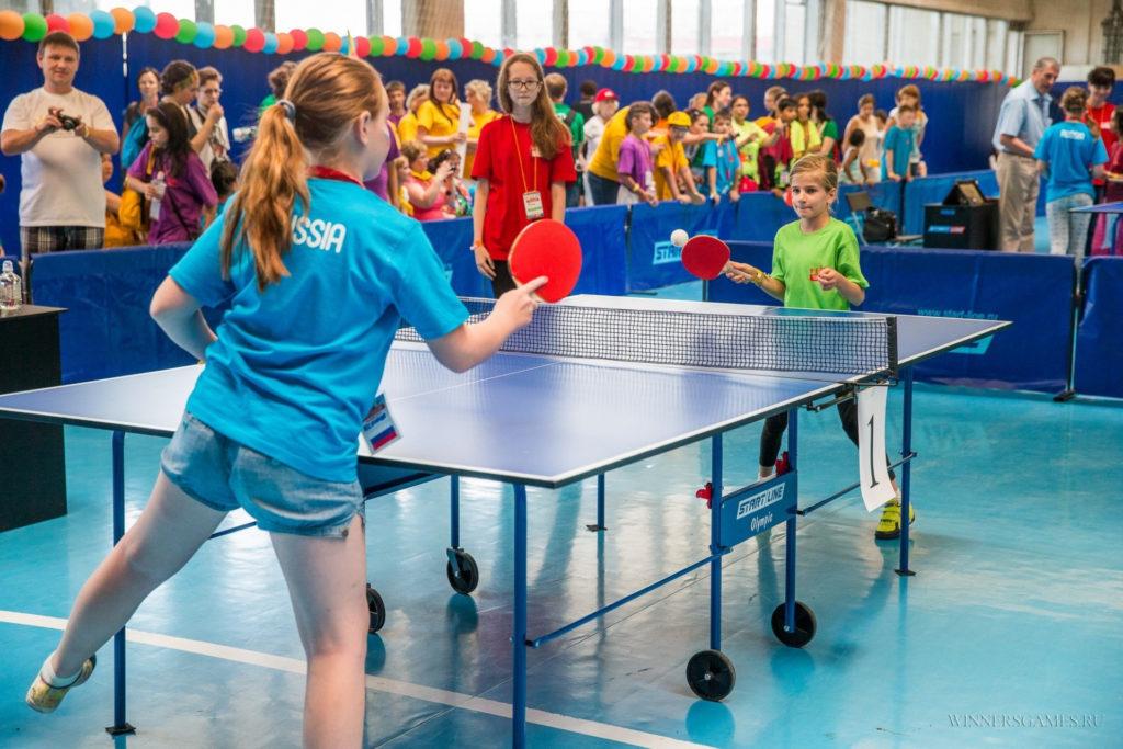 Польза настольного тенниса для детей