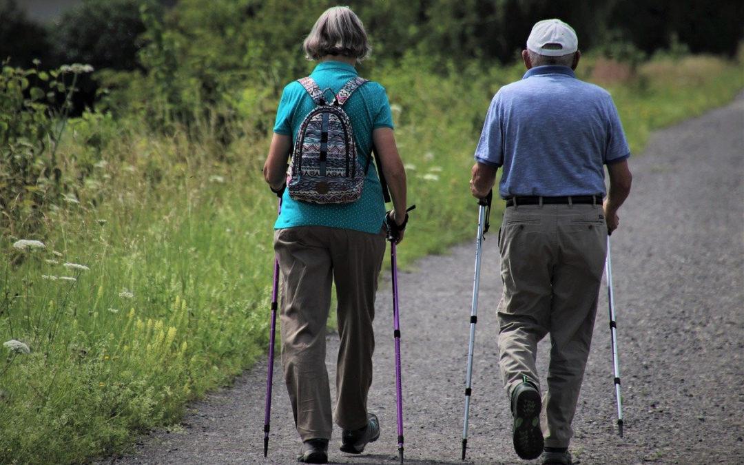 ходьба для пожилых людей