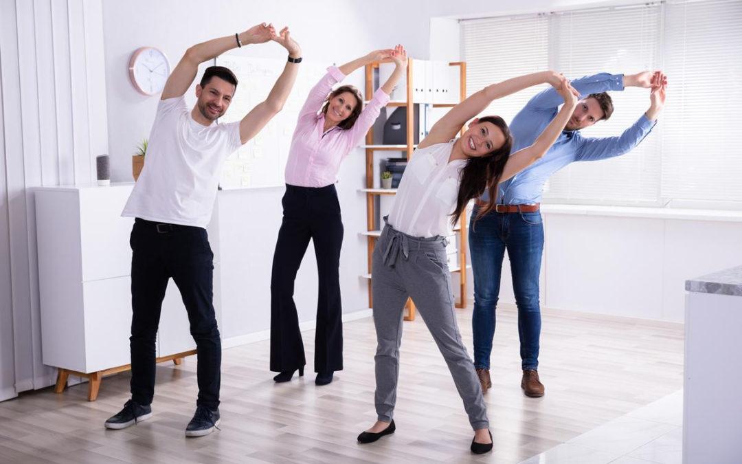 комплекс офисной гимнастики